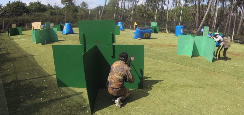 beta test des onouveaux decors paintball du club