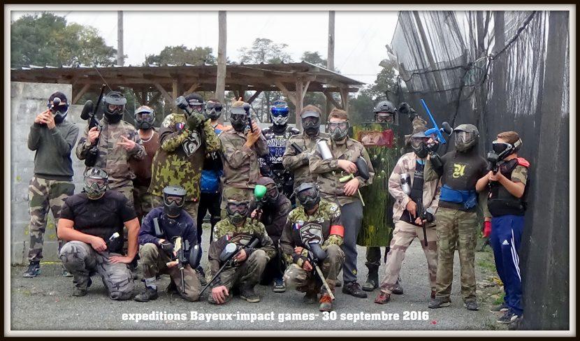 les rangers sur le terrain d'impact games bayeux