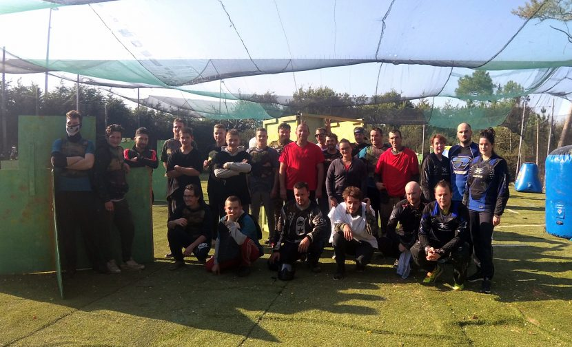 paintball-rangers club organise un tournoi speedball debutatnts