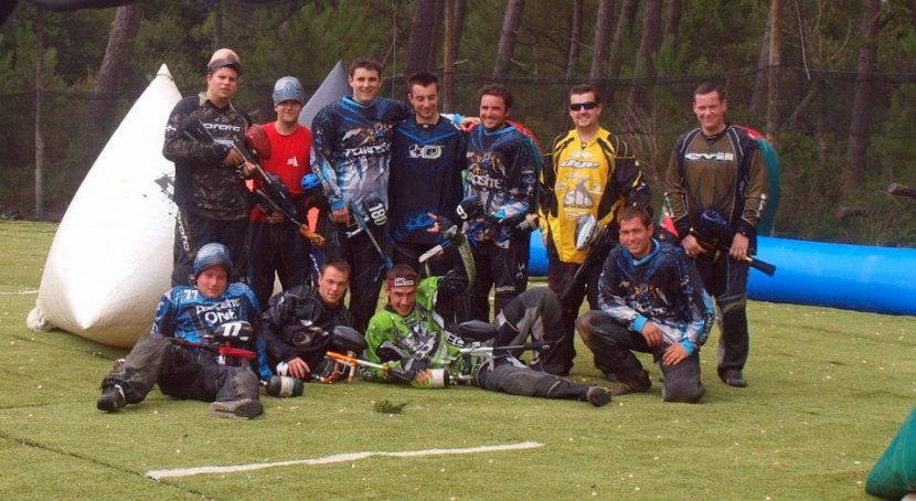 paintball sportif entrainement