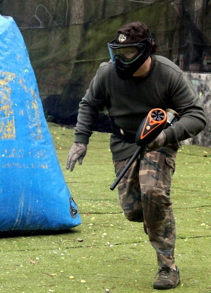 entrainement paintball pour les jeunes