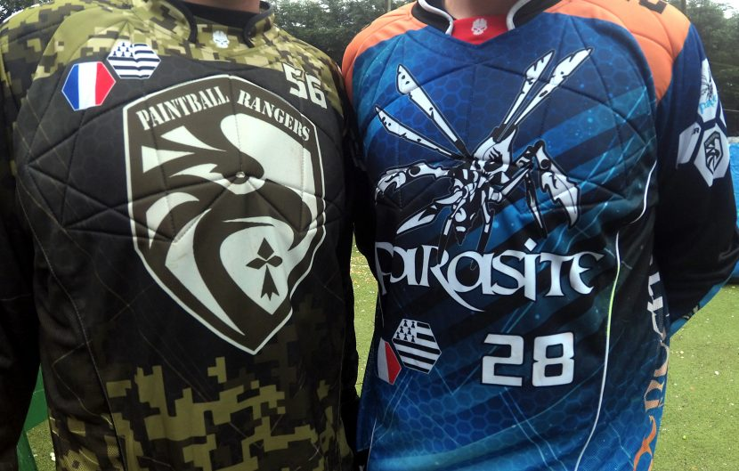 debut de saison de paintball sportif