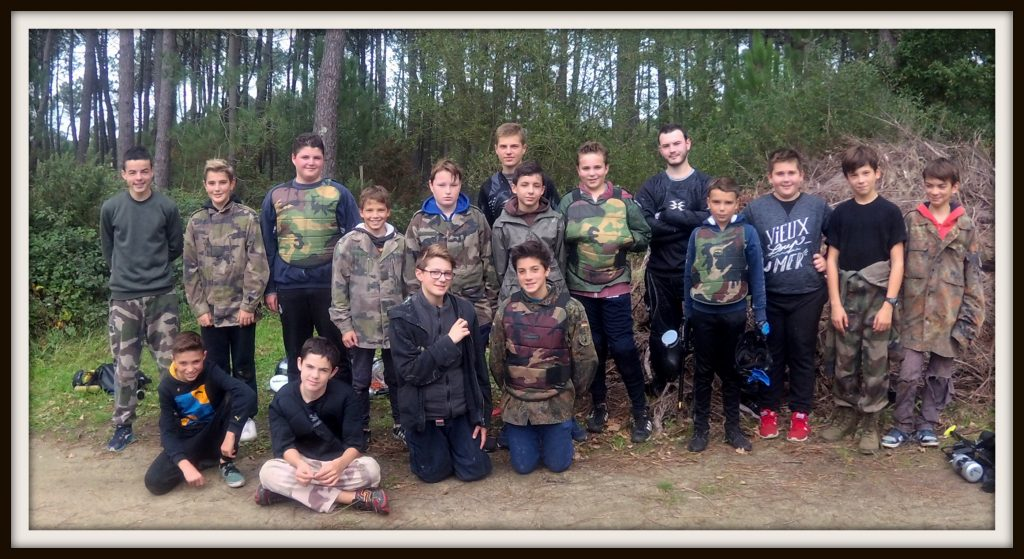 paintball section jeunesse de plouhinec-bretagne