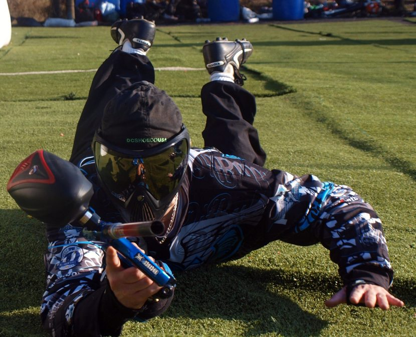 training paintball sportif