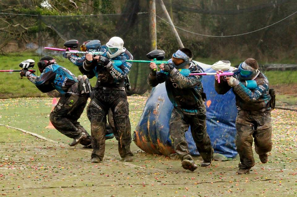 team paintball from the paintball-rangers club de lorient