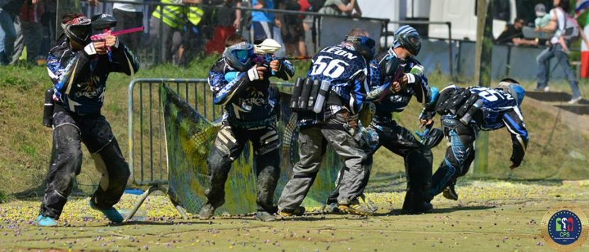 our first international paintball tournament with the parasites