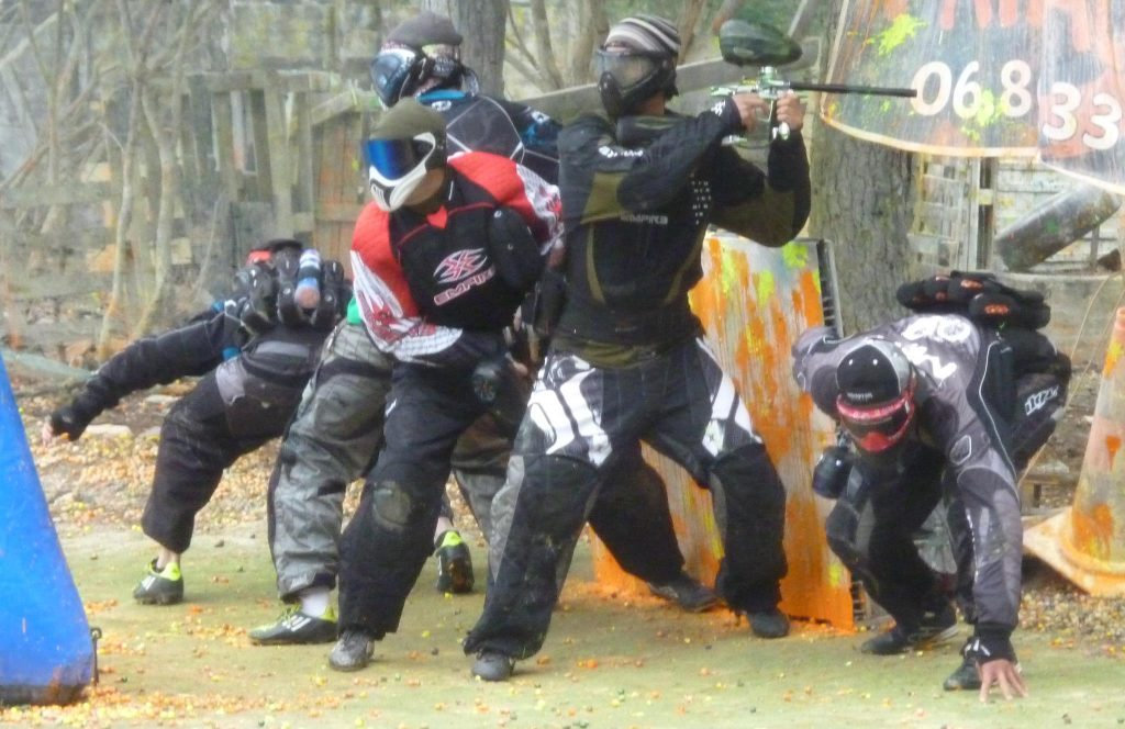 parasites paintball team compétition