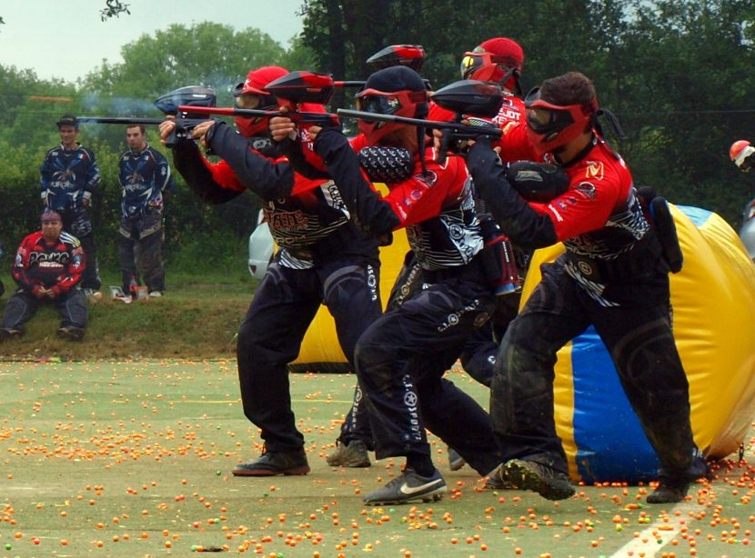 team paintball des pirates