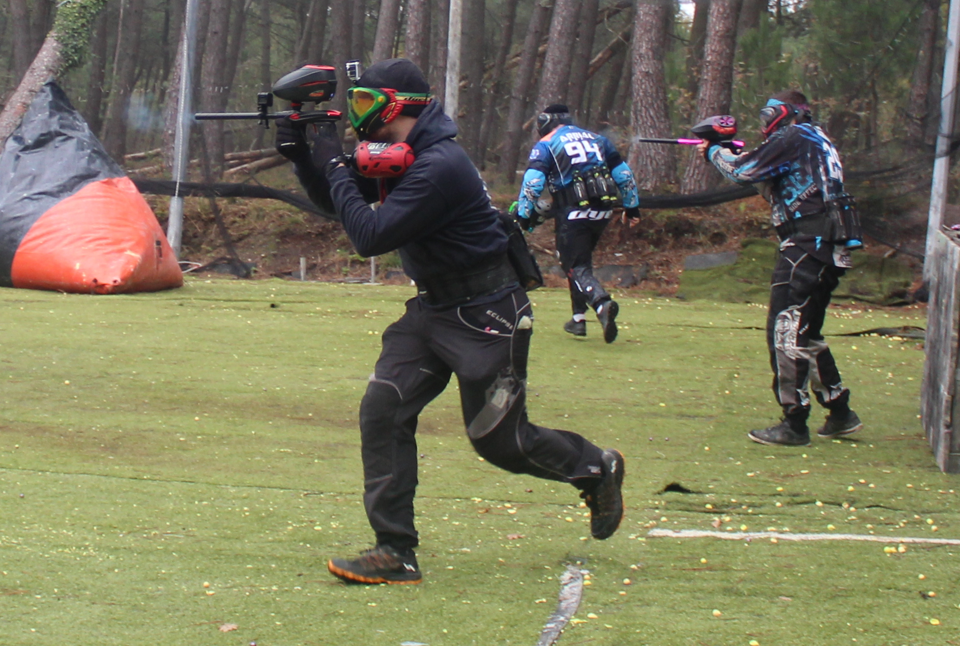 PREBUNK PAINTBALL PRACTICE