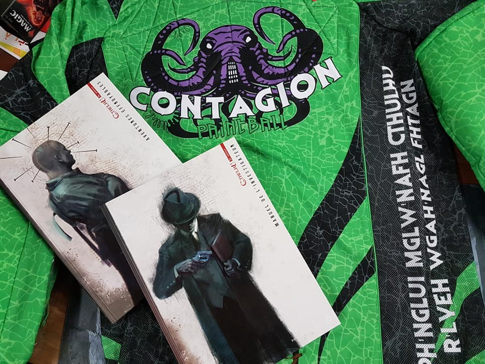contagion paintball team univers de cthulhu