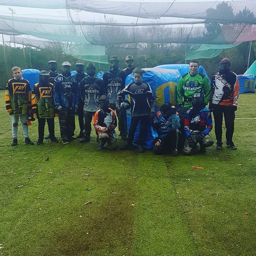 paintball sportif jeunes club