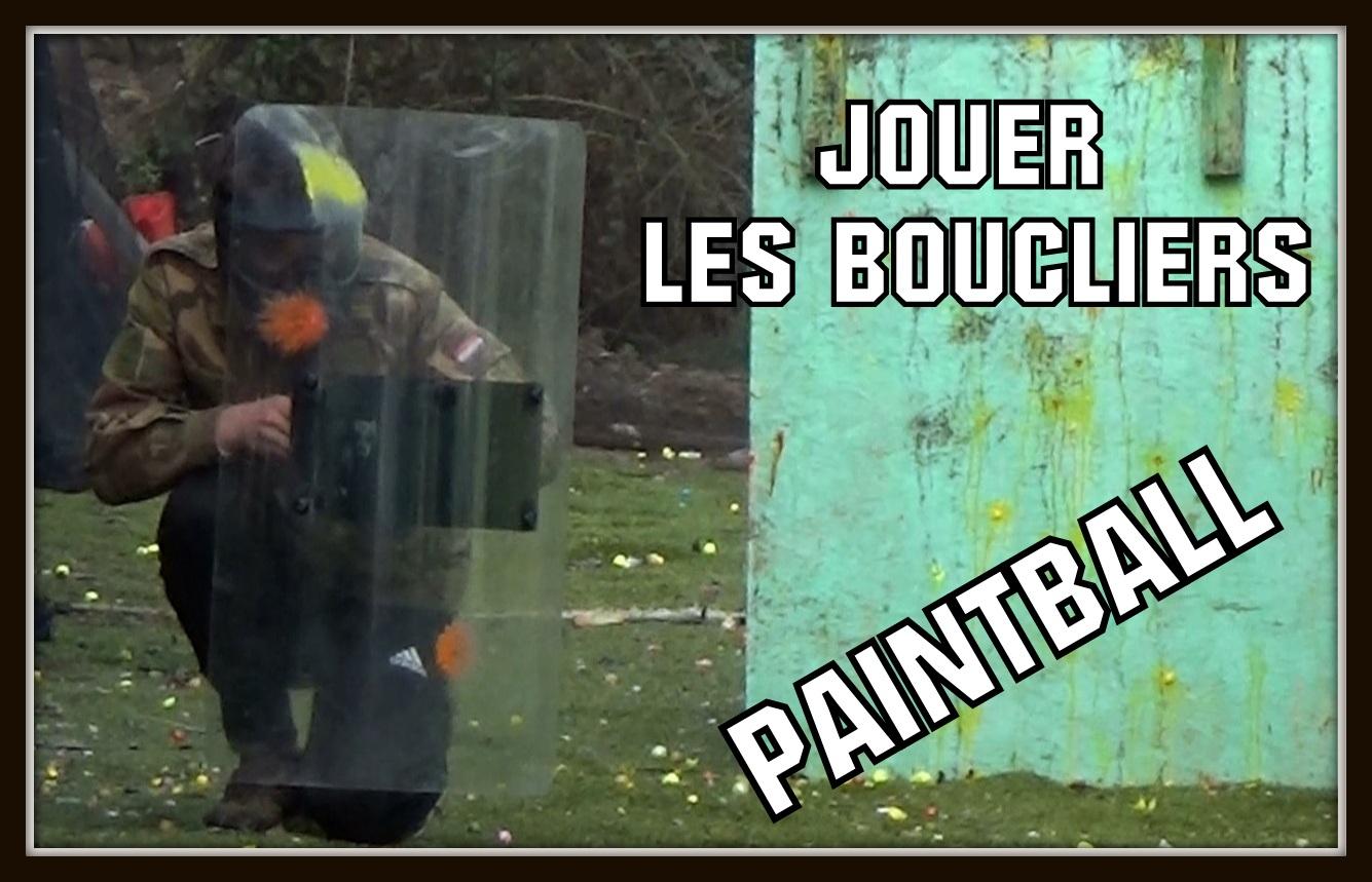 utiliser des boucliers au paintball