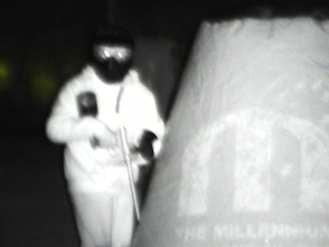 camera thermique pour paintball de nuit