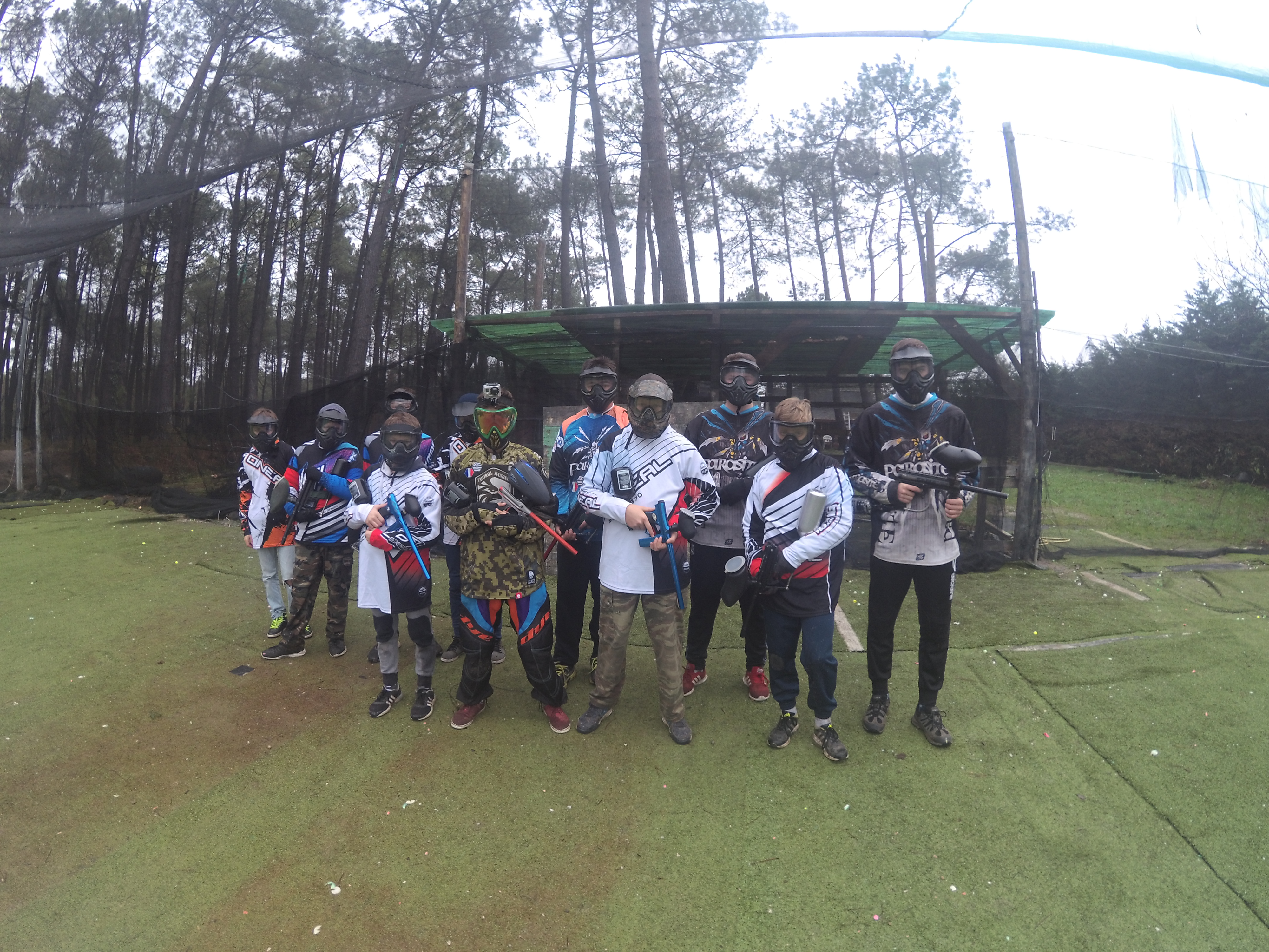 initiation paintball sportif - club morbihan